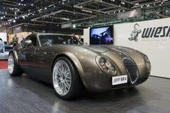Wiessman GT MF4 Roadster - Genf-Autoausstellung 2009 Lizenzfreies Stockbild