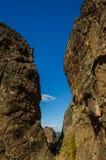 Wieszać skały, Macedon pasma Fotografia Royalty Free