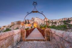 Wieszać domy w Cuenca, Hiszpania Zdjęcie Royalty Free