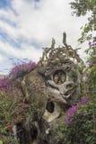 Wiesza Nga pensjonat, powszechnie znać jako Szalony dom Fotografia Stock