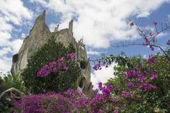 Wiesza Nga pensjonat, powszechnie znać jako Szalony dom Obraz Royalty Free