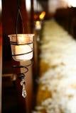 wieszanie świece. obrazy royalty free