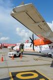 Świetlik ATR-72 Zdjęcie Stock