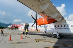 Świetlik ATR-72 Obrazy Royalty Free
