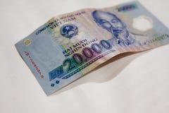 Wietnam Dong banknot zdjęcie stock