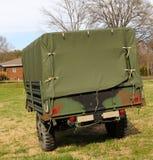 Wietnam ery wojskowy Zakrywający furgon Obraz Royalty Free