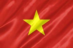 Wietnam flaga ilustracja wektor