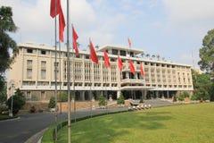 Wietnam Ho Chi Minh niezależności pałac zdjęcie royalty free