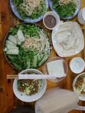 Wietnam jedzenie Obrazy Royalty Free