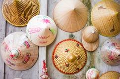 Wietnam kapeluszu tło Zdjęcia Royalty Free