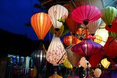 Wietnam - lampiony Zdjęcia Stock