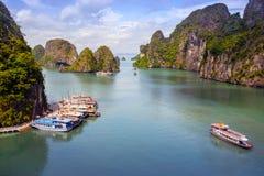 Wietnam, morze podpalany HẠ¡ Tęsk obraz stock