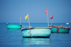 Wietnam, Muine, wioska rybacka, 27 może 2018 - tradycyjny Vietnam Obraz Stock