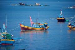 Wietnam, Muine, wioska rybacka, 27 może 2018 - tradycyjny Vietnam Zdjęcie Royalty Free
