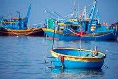 Wietnam, Muine, wioska rybacka, 27 może 2018 - tradycyjny Vietnam Fotografia Stock