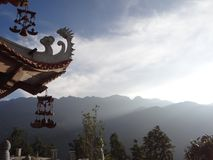 Wietnam pagoda Obrazy Royalty Free