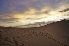 Wietnam piaska diuna Zdjęcie Stock