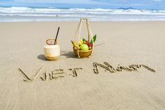 Wietnam plaża Obrazy Stock