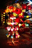 Wietnam stylu lampiony Zdjęcie Royalty Free