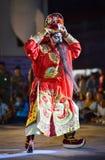 Wietnam tana przedstawienia maski zawody międzynarodowi festiwal Zdjęcie Royalty Free