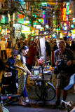 Wietnam ulicy życie nocne Fotografia Stock