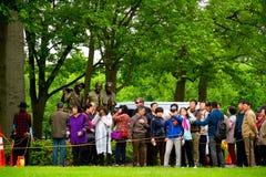 Wietnam weteranów pomnik w washington dc, Fotografia Royalty Free