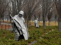 Wietnam weteranów Wojenny pomnik Obraz Royalty Free