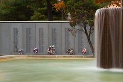 Wietnam weterani Pamiątkowi w Kansas City Zdjęcia Stock