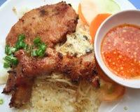 Wietnamczycy łamający ryż lub Com tama Obrazy Stock