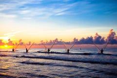 wietnamczycy rybaków Zdjęcie Stock