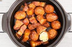 Wietnamczyk karmelizujący wieprzowina brzuch Zdjęcie Royalty Free