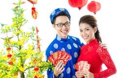 Wietnamczyk Tet Fotografia Stock