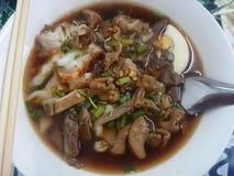 Wietnamczyk wodna gęsta pasta ryżowej mąki smak Zdjęcie Stock