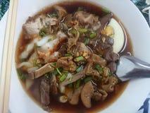 Wietnamczyk wodna gęsta pasta ryżowej mąki smak Fotografia Stock