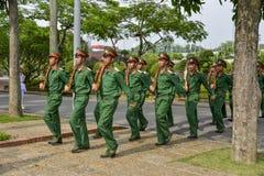Wietnamscy żołnierze zdjęcia royalty free