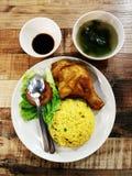 Wietnamscy kurczaków ryż w Malezja Obraz Stock