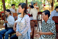 Wietnamscy muzycy Zdjęcia Stock