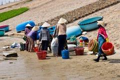 Wietnamscy rybacy Zdjęcia Stock