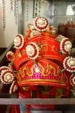 Wietnamska antyczna tradycyjna królowej korona Fotografia Royalty Free