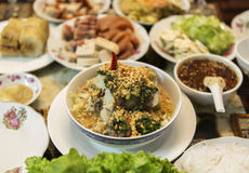 Wietnamska kuchnia Obrazy Royalty Free