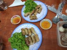 Wietnamska posiłek polewka zdjęcia stock