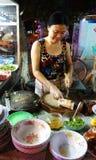Wietnamski jedzenie, kaczki owsianka Obraz Stock