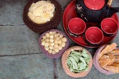 Wietnamski jedzenie, Tet, dżem, Wietnam księżycowy nowy rok Obrazy Royalty Free