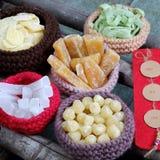 Wietnamski jedzenie, Tet, dżem, Wietnam księżycowy nowy rok Zdjęcie Stock