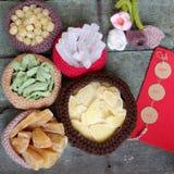 Wietnamski jedzenie, Tet, dżem, Wietnam księżycowy nowy rok Zdjęcia Stock