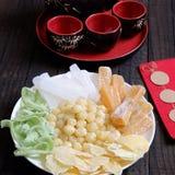 Wietnamski jedzenie, Tet, dżem, Wietnam księżycowy nowy rok Zdjęcia Royalty Free