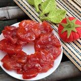 Wietnamski jedzenie, Tet, pomidorowy dżem, Wietnam tradycyjny Fotografia Stock