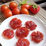 Wietnamski jedzenie, Tet, pomidorowy dżem, Wietnam tradycyjny Zdjęcia Royalty Free
