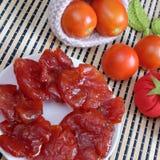 Wietnamski jedzenie, Tet, pomidorowy dżem, Wietnam tradycyjny Obrazy Royalty Free