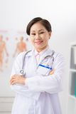 Wietnamski ogólny lekarz praktykujący Zdjęcia Stock